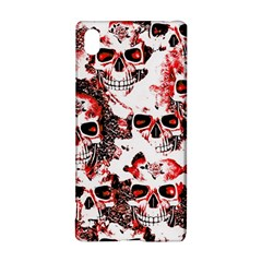 Cloudy Skulls White Red Sony Xperia Z3+