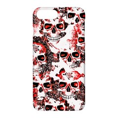 Cloudy Skulls White Red Apple iPhone 7 Plus Hardshell Case