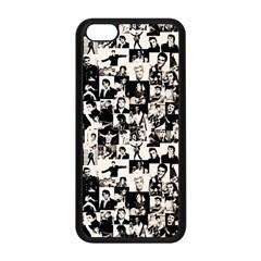 Elvis Presley pattern Apple iPhone 5C Seamless Case (Black)