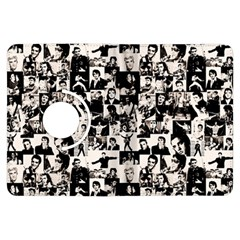 Elvis Presley pattern Kindle Fire HDX Flip 360 Case