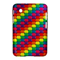 Colorful 3d rectangles     Apple iPhone 5C Hardshell Case