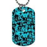 Elvis Presley pattern Dog Tag (One Side) Front