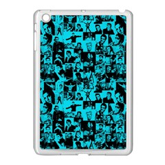 Elvis Presley pattern Apple iPad Mini Case (White)