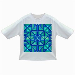 Grid Geometric Pattern Colorful Infant/toddler T Shirts