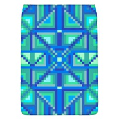 Grid Geometric Pattern Colorful Flap Covers (L)