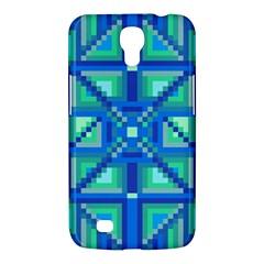 Grid Geometric Pattern Colorful Samsung Galaxy Mega 6.3  I9200 Hardshell Case