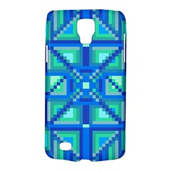 Grid Geometric Pattern Colorful Galaxy S4 Active