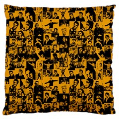 Elvis Presley pattern Standard Flano Cushion Case (Two Sides)
