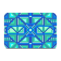 Grid Geometric Pattern Colorful Plate Mats