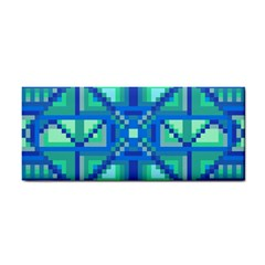 Grid Geometric Pattern Colorful Cosmetic Storage Cases