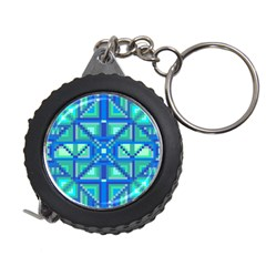 Grid Geometric Pattern Colorful Measuring Tapes