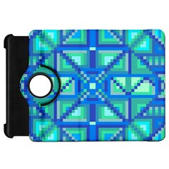 Grid Geometric Pattern Colorful Kindle Fire Hd 7