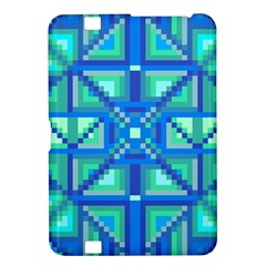 Grid Geometric Pattern Colorful Kindle Fire HD 8.9