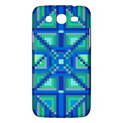 Grid Geometric Pattern Colorful Samsung Galaxy Mega 5 8 I9152 Hardshell Case
