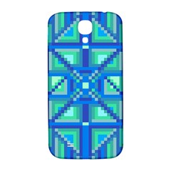 Grid Geometric Pattern Colorful Samsung Galaxy S4 I9500/i9505  Hardshell Back Case