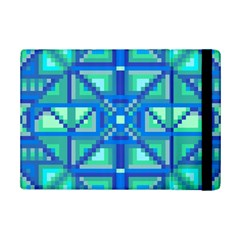 Grid Geometric Pattern Colorful iPad Mini 2 Flip Cases