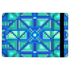 Grid Geometric Pattern Colorful Ipad Air Flip