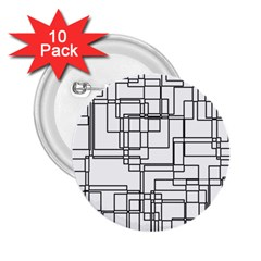 Structure Pattern Network 2 25  Buttons (10 Pack)