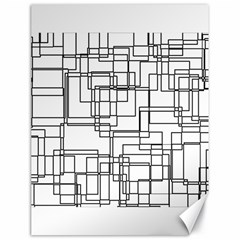 Structure Pattern Network Canvas 18  x 24