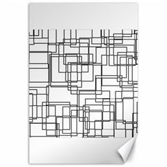 Structure Pattern Network Canvas 20  x 30