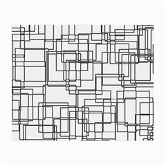Structure Pattern Network Small Glasses Cloth (2-Side)