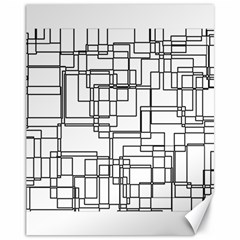 Structure Pattern Network Canvas 11  X 14
