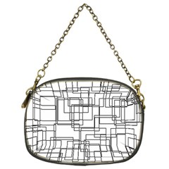 Structure Pattern Network Chain Purses (one Side)