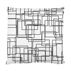 Structure Pattern Network Standard Cushion Case (one Side)