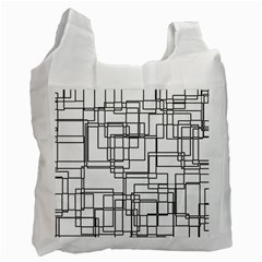 Structure Pattern Network Recycle Bag (one Side)
