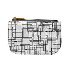 Structure Pattern Network Mini Coin Purses