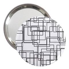 Structure Pattern Network 3  Handbag Mirrors