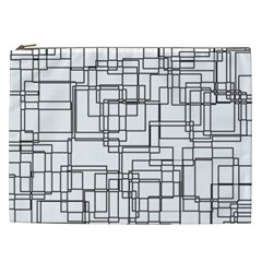 Structure Pattern Network Cosmetic Bag (xxl)