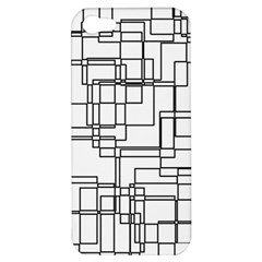 Structure Pattern Network Apple Iphone 5 Hardshell Case