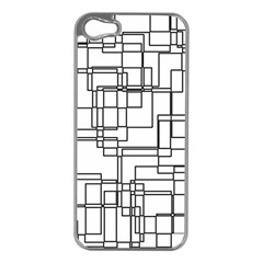 Structure Pattern Network Apple Iphone 5 Case (silver)