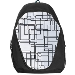 Structure Pattern Network Backpack Bag