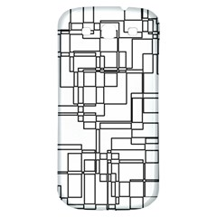 Structure Pattern Network Samsung Galaxy S3 S III Classic Hardshell Back Case