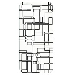 Structure Pattern Network Apple Iphone 5 Hardshell Case With Stand