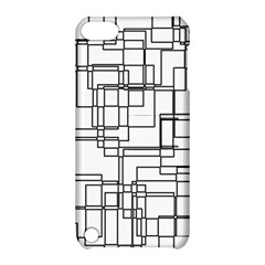 Structure Pattern Network Apple Ipod Touch 5 Hardshell Case With Stand