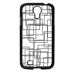 Structure Pattern Network Samsung Galaxy S4 I9500/ I9505 Case (Black)