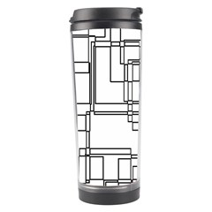 Structure Pattern Network Travel Tumbler