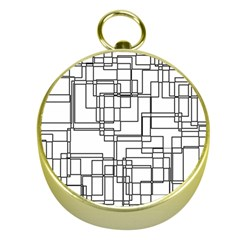Structure Pattern Network Gold Compasses
