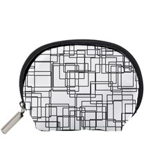 Structure Pattern Network Accessory Pouches (small)