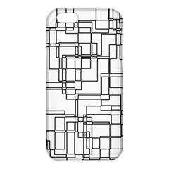 Structure Pattern Network iPhone 6/6S TPU Case