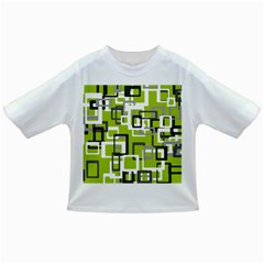 Pattern Abstract Form Four Corner Infant/Toddler T-Shirts