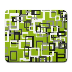 Pattern Abstract Form Four Corner Large Mousepads