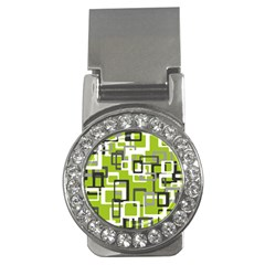 Pattern Abstract Form Four Corner Money Clips (CZ)