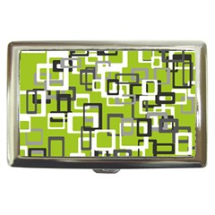 Pattern Abstract Form Four Corner Cigarette Money Cases