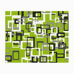 Pattern Abstract Form Four Corner Small Glasses Cloth