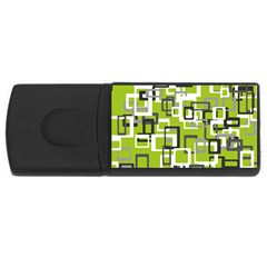 Pattern Abstract Form Four Corner Usb Flash Drive Rectangular (4 Gb)