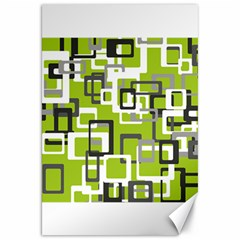 Pattern Abstract Form Four Corner Canvas 20  X 30